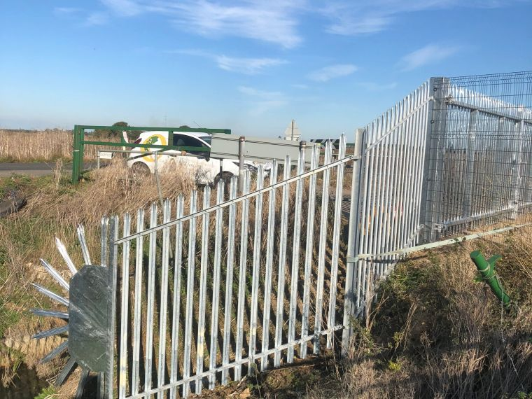 Palisade fencing in Peterborough